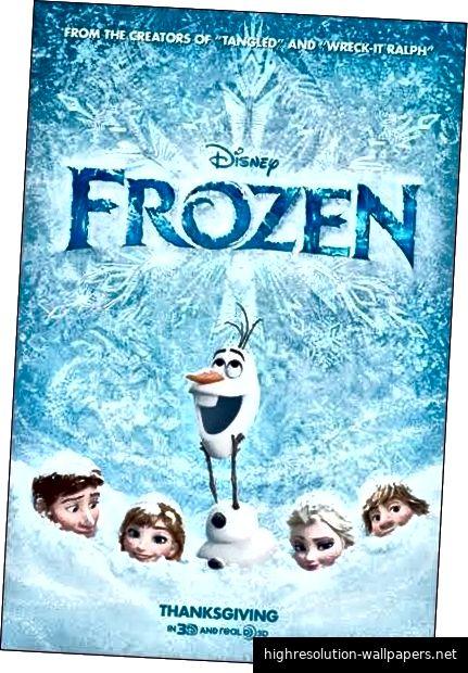 Disneys offizielles Frozen-Poster