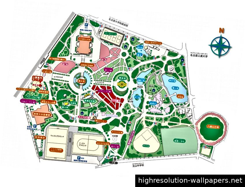 Tsurumai Park Plan, Nagoya. Bildnachweis: 公益: City 団 法人 名古屋 市 み り り (Nagoya City Green Association)
