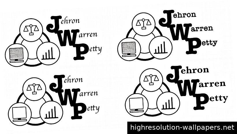 Erster Entwurf des persönlichen Logos
