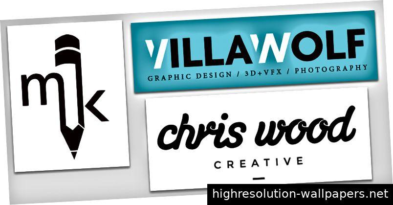 Persönliche Logo-Beispiele von: webfx.com