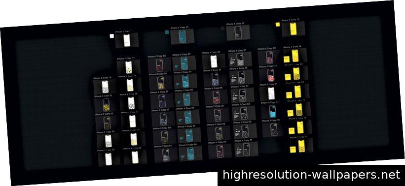 Neueinfärben von Ebenen in Stufen mit gemeinsamer Farbpalette