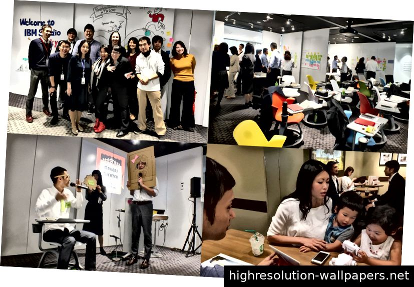 Mit IBM Design Thinking war ich an Human Centered Design-Projekten beteiligt.