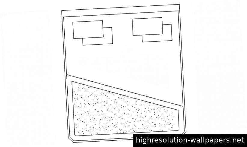 Möbeleinheiten blockieren Zeichnungen von Doppelbett 2D-Ansicht Höhendetails in AutoCAD-Datei