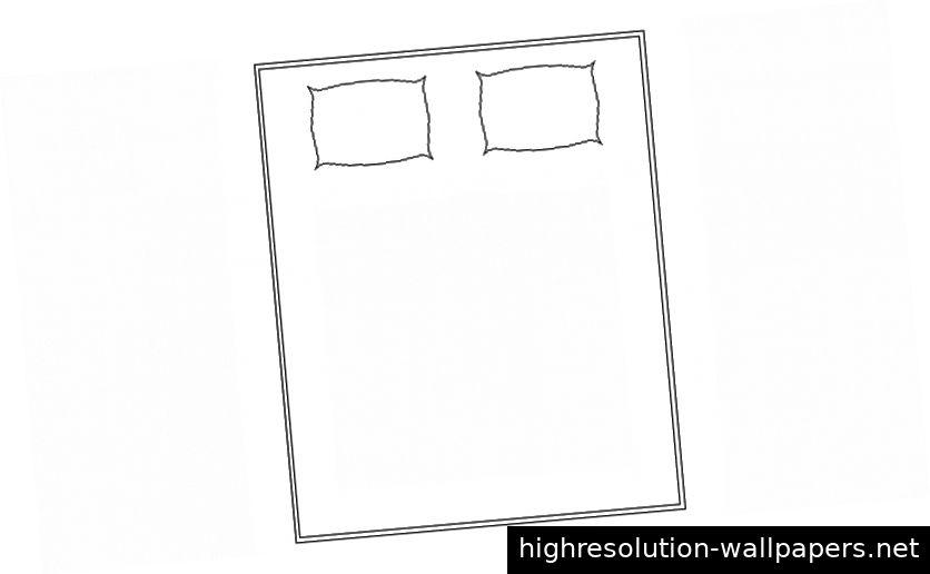 Zeichnungen von Möbeln Doppelbett Einheiten 2D-Ansicht Aufriss AutoCAD-Software-Datei