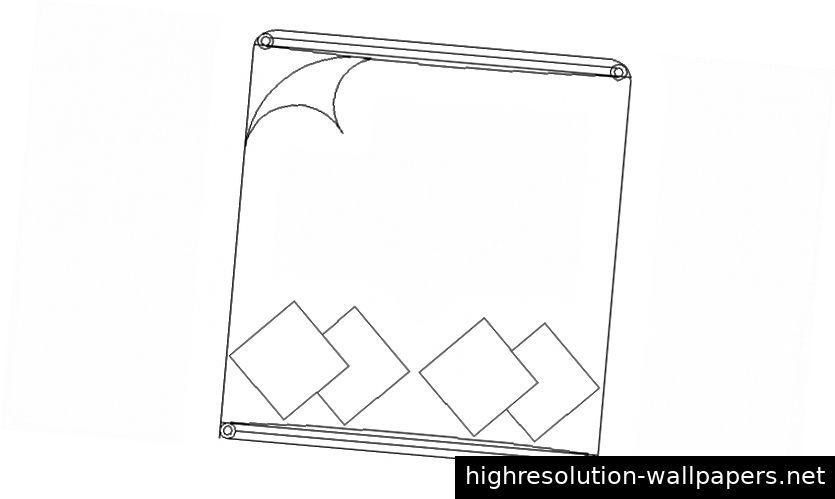 Zeichnungen der Möbel 2d-Ansicht Doppelbett AutoCAD-Software-Datei