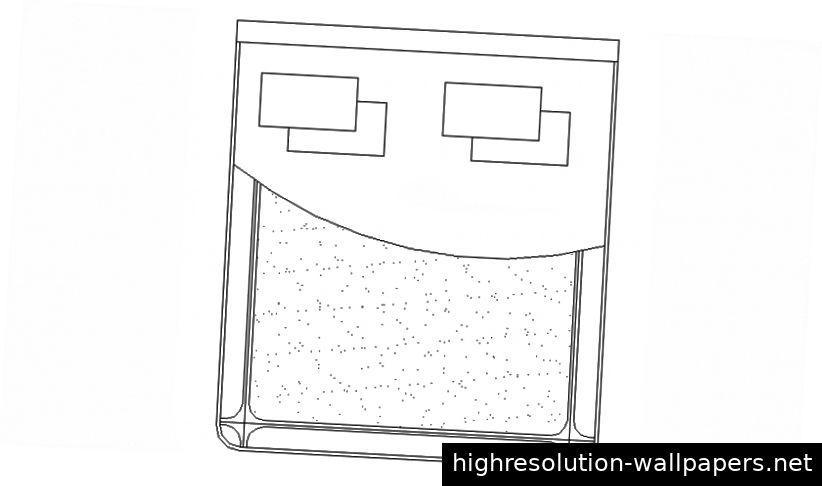 Zeichnungen von Möbeln Doppelbett 2D-Ansicht Aufriss AutoCAD-Datei