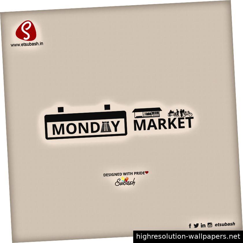 Mathur, Meenakshipuram, Montagsmarkt