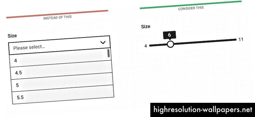 Visning af minimums- og maksimalværdien af skalaen kan muligvis hjælpe med at forstå konteksten