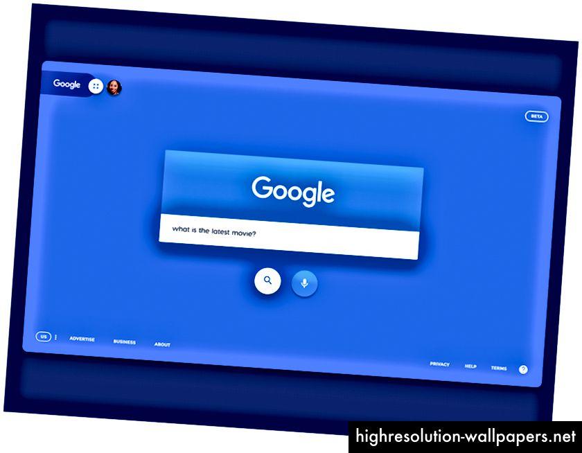 Επανασχεδιασμός Google