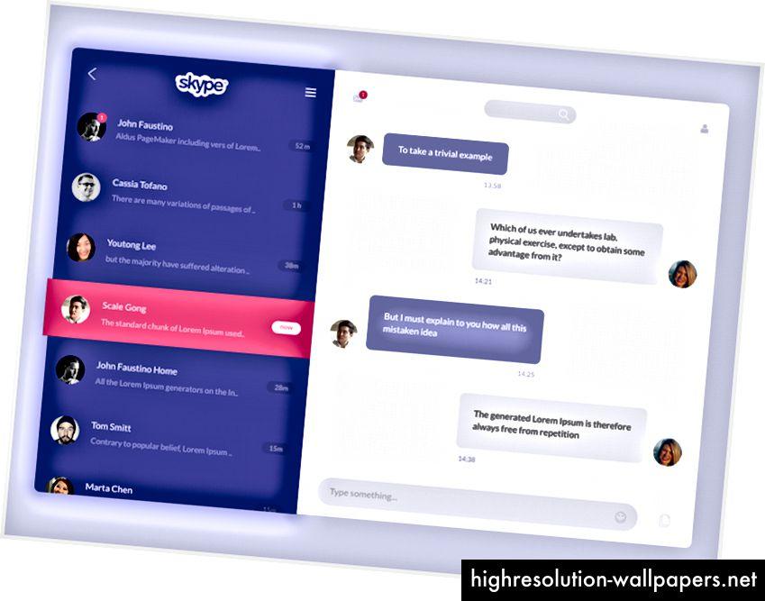Επανασχεδιασμός του Skype