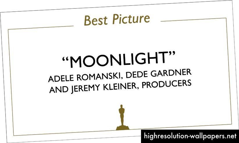 Κάρτα Oscar Winner, μπροστά mockup. Εικόνα: benjamin bannister