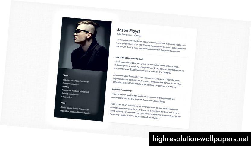 Πρότυπο Persona - Κατεβάστε το εδώ: http://janlosert.com/assets/persona-template.zip