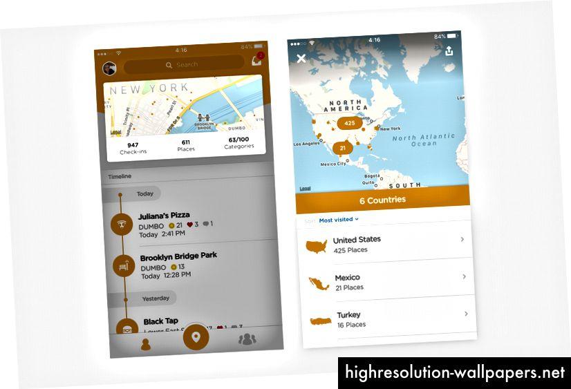 Tarjeta de vista previa de la página de inicio y mapa