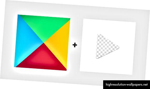Ένα εναλλακτικό πολύχρωμο φόντο με προσκήνιο κάλυψης