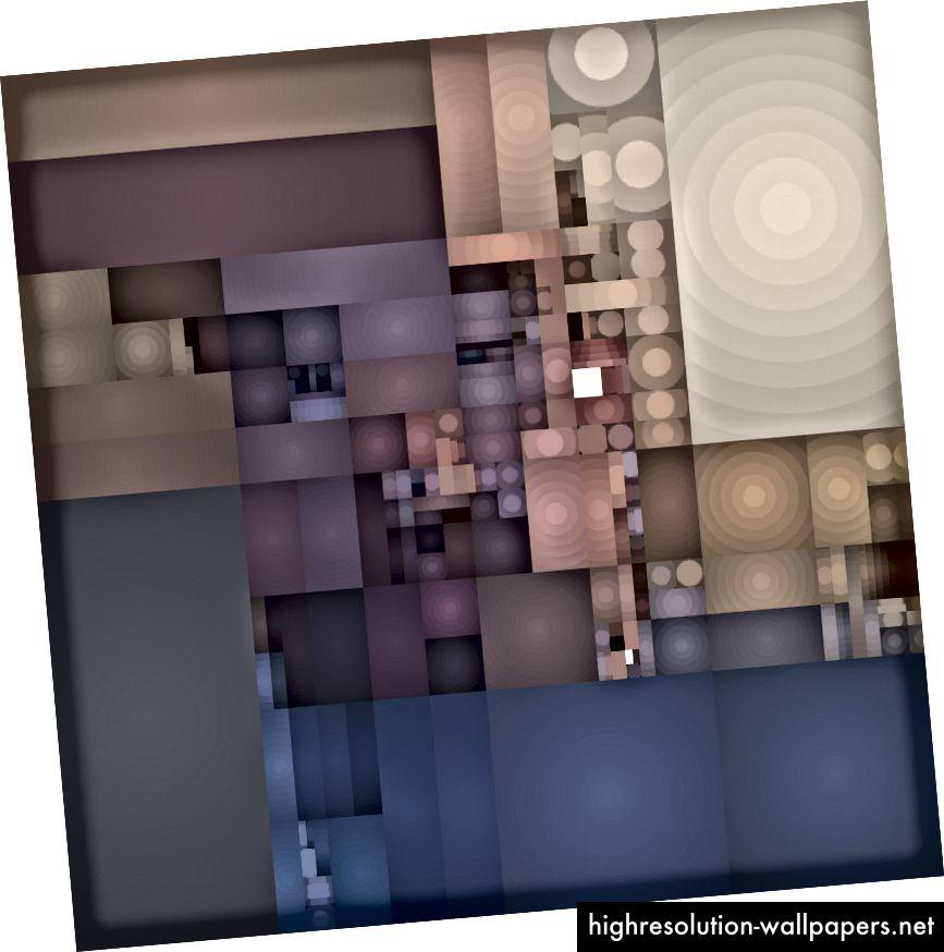 web kamera podijeljena krugove