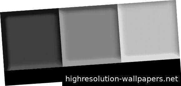 от основного цвета я перехожу от более темного для заголовков к более светлому для вспомогательного содержимого.