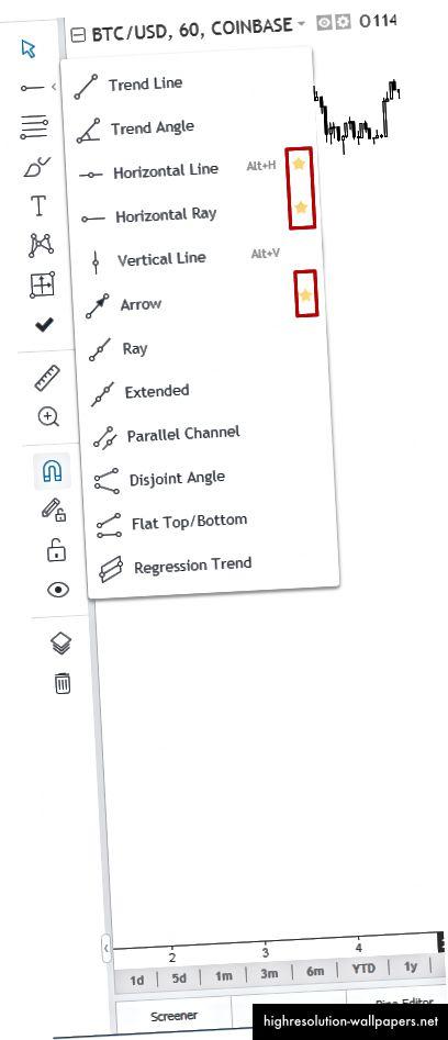 Βήμα 1: 'αγαπημένο' τα εργαλεία σχεδίασης που χρησιμοποιείτε πιο συχνά