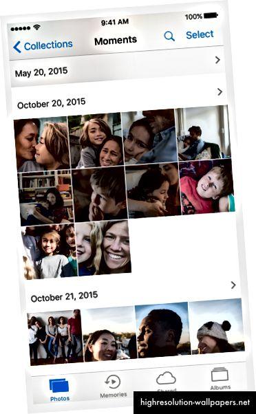 Billedkilde: Googles retningslinjer for materialedesign og retningslinjer for menneskelig interface til iOS