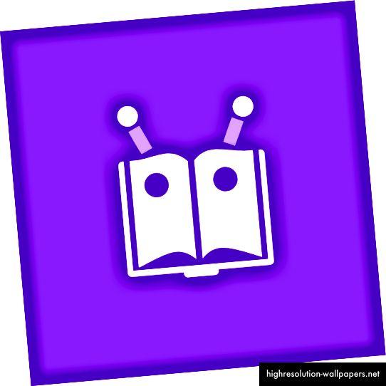Revisebot's Logo, creado con Canva.com