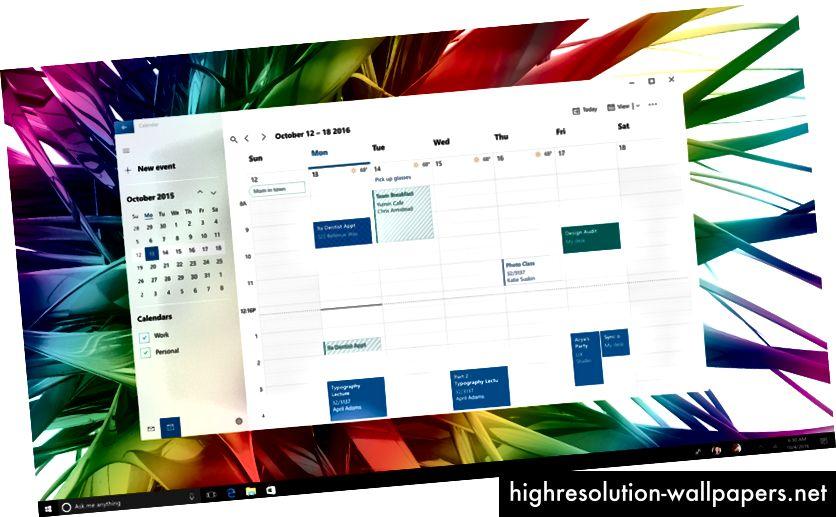 Tidlig flydende udforskning af kalenderen