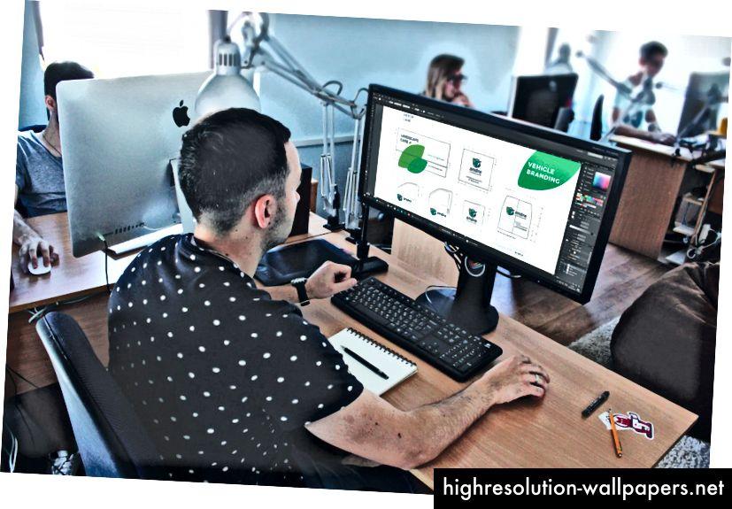 Kreativan proces dizajniranja marke za Andre
