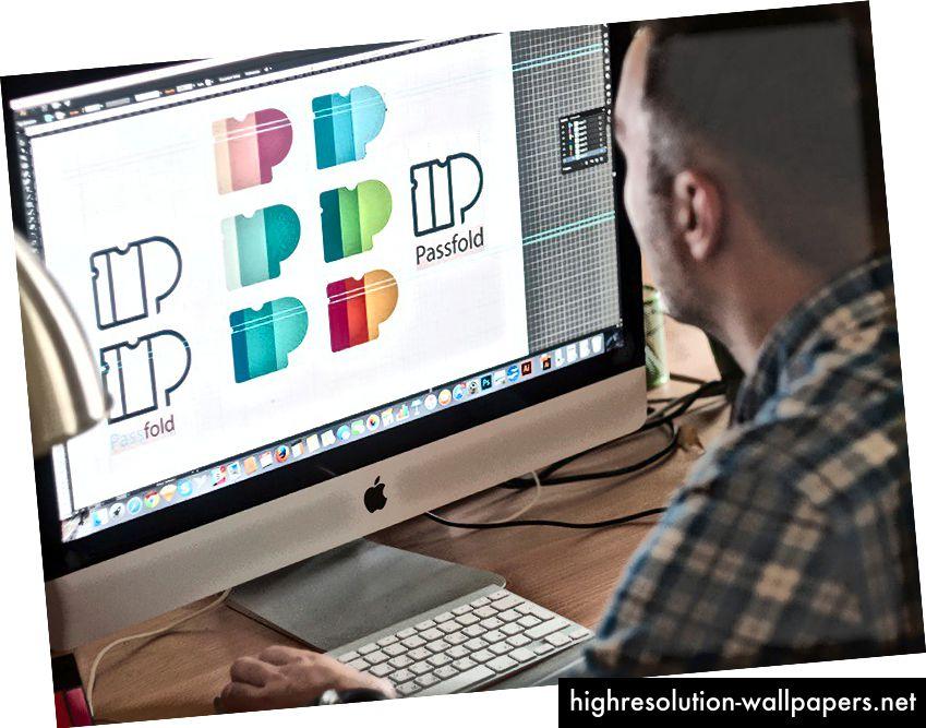 Dizajn logotipa za Passfold
