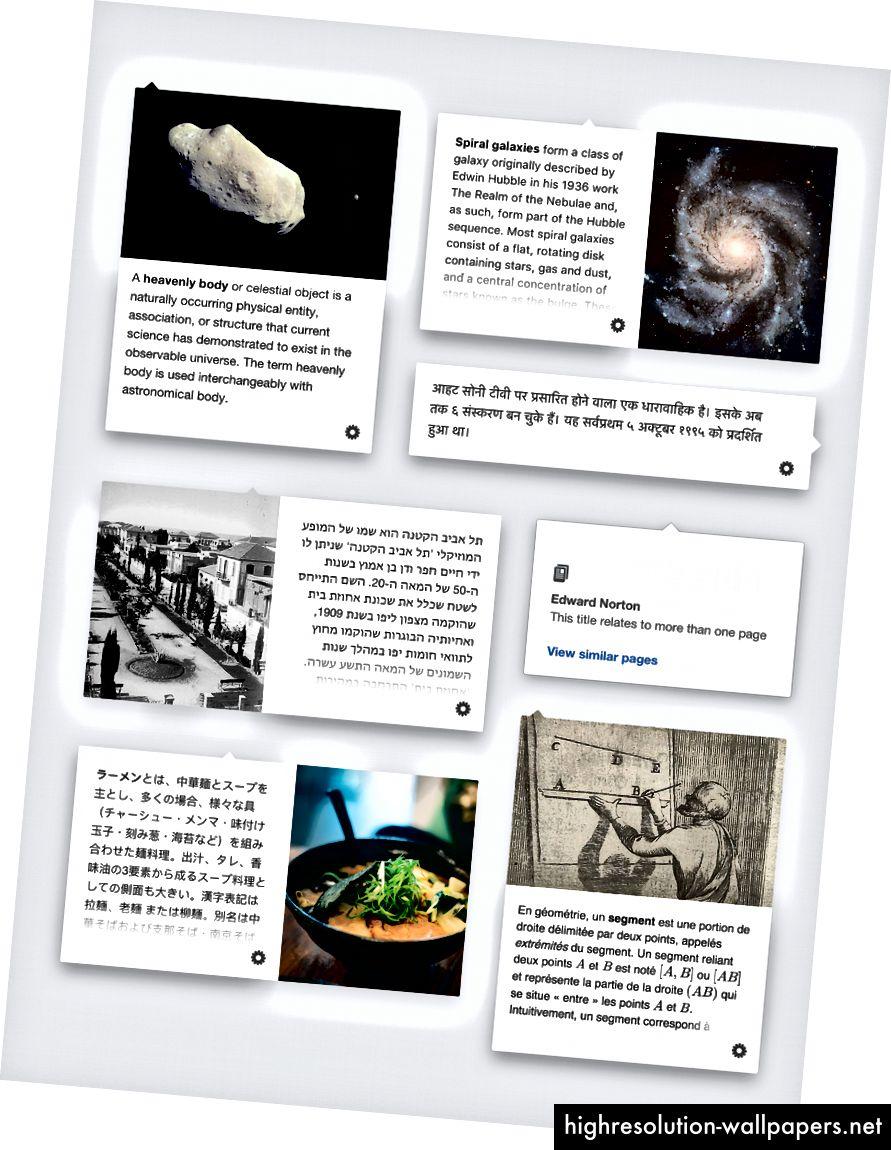 Grafiikka Nirzar Pangarkar / Wikimedia Foundation, CC BY-SA 3.0. Teksti ja kuvat mainituista Wikipedia-artikkeleista eri kielillä.