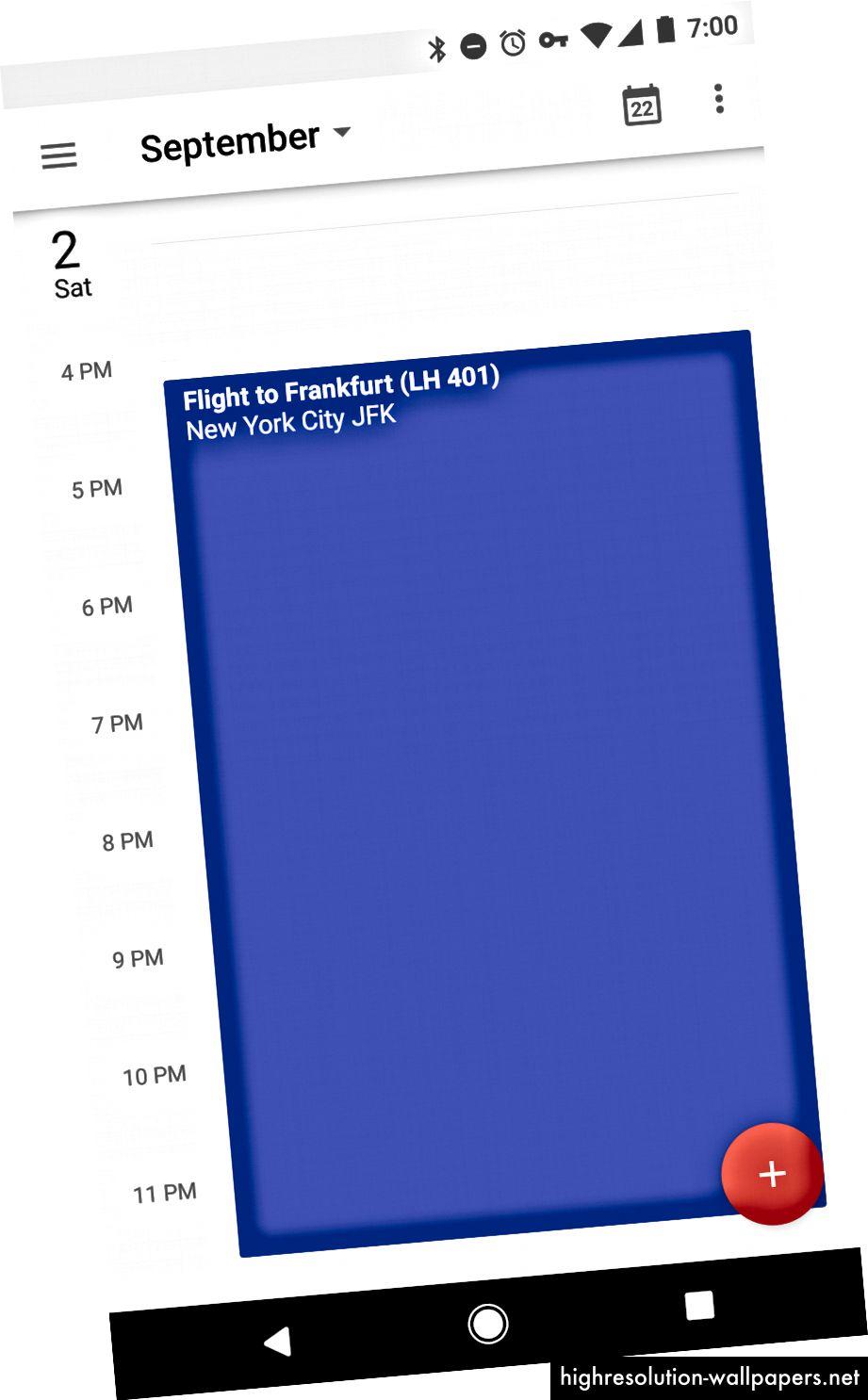 Часовник, Google и Google Календар