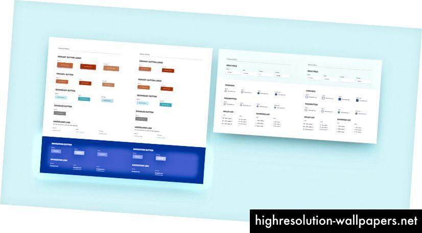 """Symboler er vigtige for at opbygge et designsystem, der er dannet af elementer og komponenter, der vil blive brugt i hele dit projekt. (Kilde: """"Hvordan bruger vi komponentbaseret design"""")"""