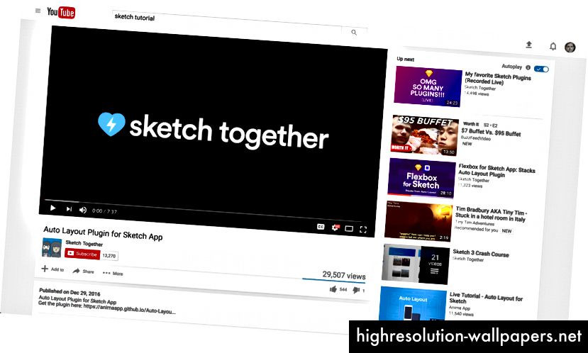 Τάδα! Υποστηρίζει τη σχεδίαση στο YouTube. Δείχνει καλά!