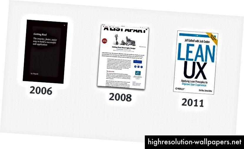 Πιστεύω ότι ο ευέλικτος ή ρεαλιστικός σχεδιασμός προηγείται του 2006, αλλά αυτά είναι σημαντικά παραδείγματα