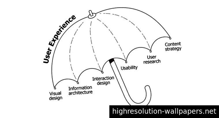Dan Willis 'UX-paraply hjælper med at forklare, hvad der virkelig er involveret i UX-design.