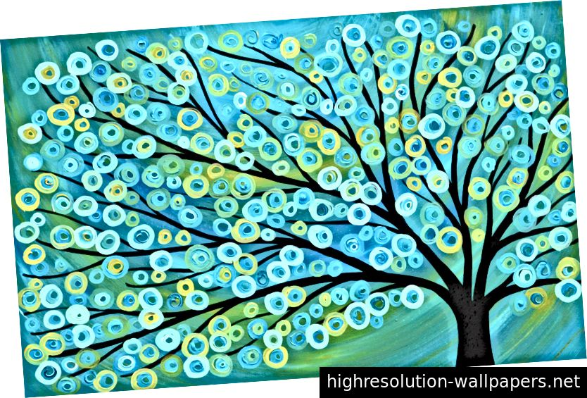 Znanje je stablo, a svi su predmeti međusobno povezani