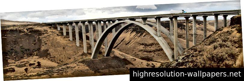 Selah Creek Arches από το WSDOT