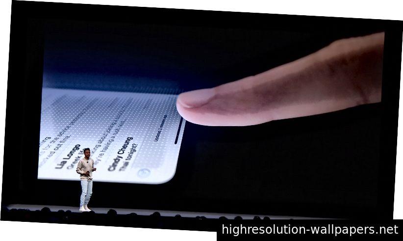 Презентация Apple WWDC18 «Проектирование жидкостных интерфейсов»