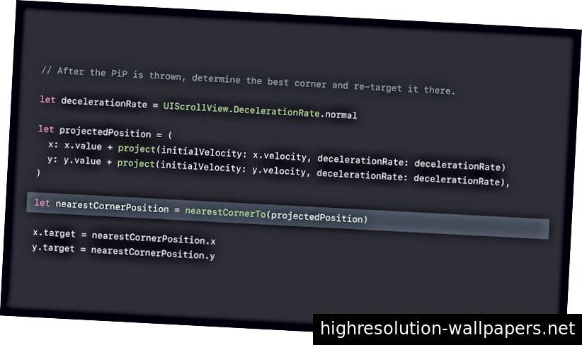 Немного Swift-подобного кода из презентации.