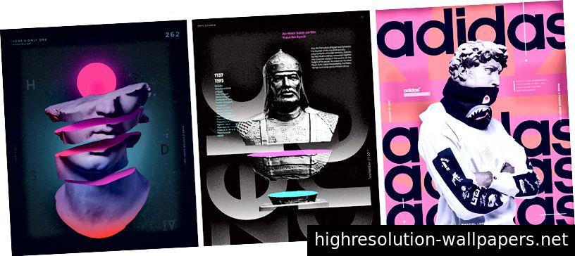 Μηδενικές αφίσες I Magdiel Lopez