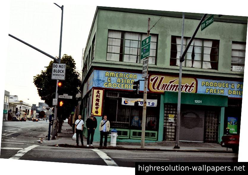 Το ταπεινό γραφείο SF όπου σχεδιάστηκαν και τα λογότυπα Twitter και Facebook.
