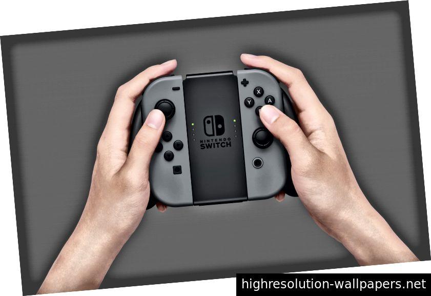 Μόνο μερικοί από τους τρόπους με τους οποίους μπορείτε να αλληλεπιδράσετε με το διακόπτη. (Φωτογραφίες: Nintendo)