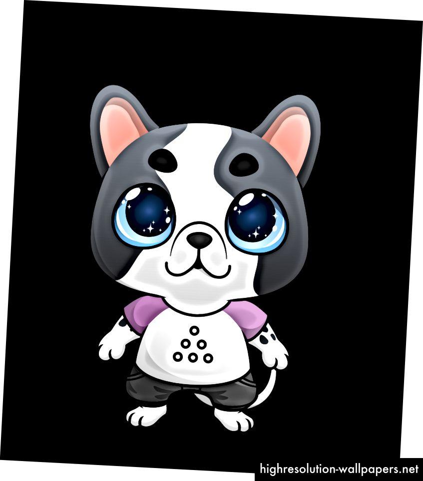 Lumi tribute doggy, направен в сътрудничество с Lumi Collect
