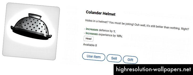 Colander Hjelm - lige ud af køkkenet!