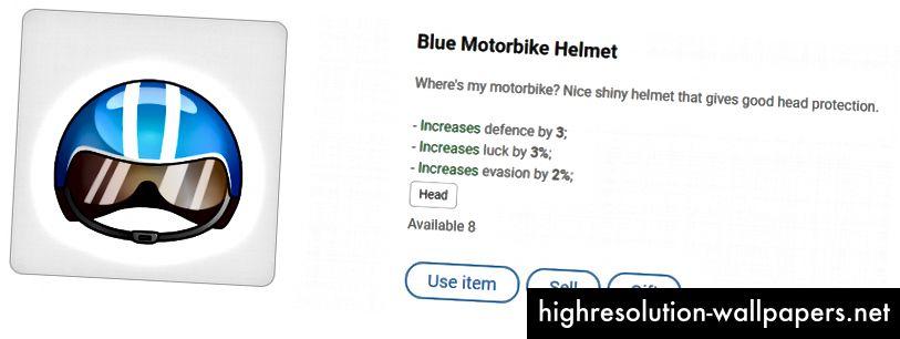Blå motorcykelhjelm - gør dig klar til højhastighedskonkurrence!