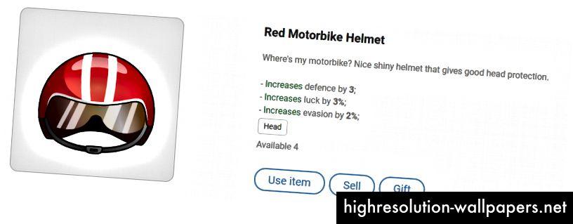 Rød motorcykelhjelm - gør dig klar til racer med høj hastighed!
