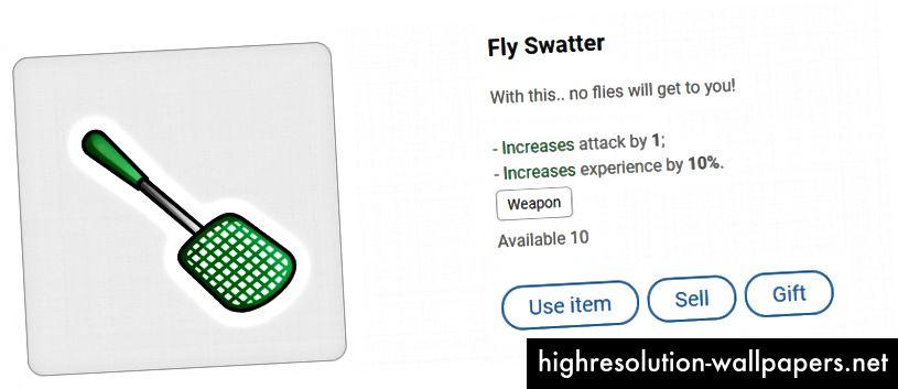 Fly Swatter - somrene er forbi, men der er stadig nogle fluer at swat!