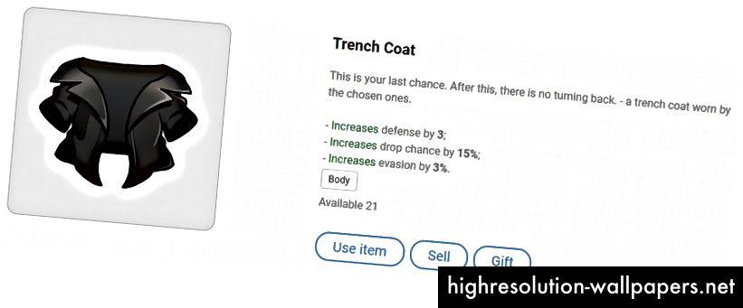 Trenchcoat - husker du de dage, hvor blå og røde piller var en ting? ^^