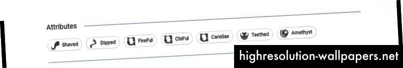 """Hver attribut har nu en """"info""""-popup, der viser attributtereffekt"""