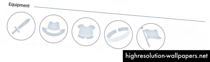 Нови 5 слота - оръжие, шапка, боди, гривна и допълнителен аксесоар