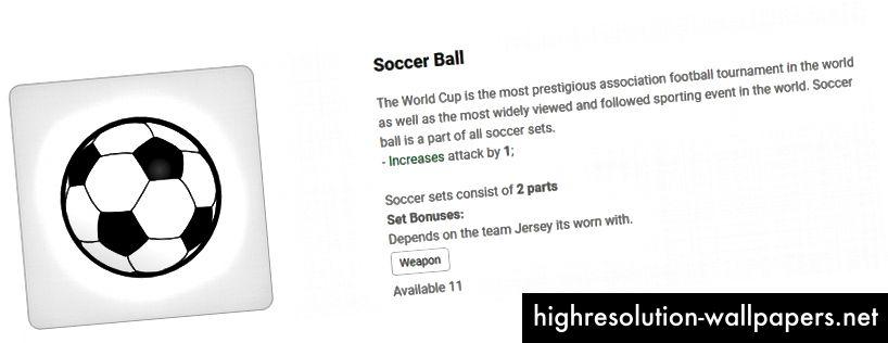 Fodbold bliver et våben