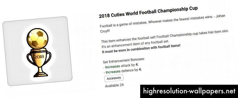 Купата на Световното първенство 2018 става аксесоар