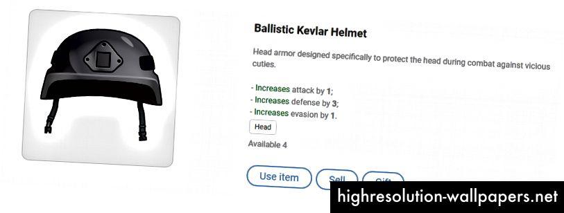 Ballistisk Kevlar-hjelm